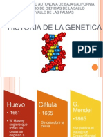 Genetica Historia