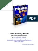 Adobe Photoshop Secrets - Tricks,
