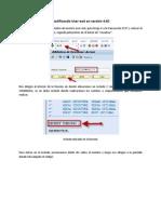 Modificando User-exit en versión 4.6C