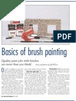 Basics of Brush painting