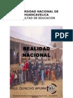 Realidad Nacional Primera Unidad 2008 Inicial