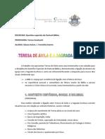 Resumo Para Colegas Teresa Davila1