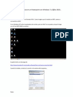 Cómo insertar música en un Powerpoint con Windows 7 y Office 2010 (1)