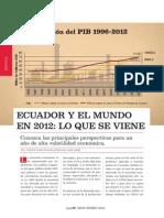 Ecuador y El Mundo en 2012