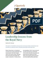 Navy Leadership