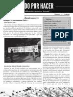 Todo por Hacer, nº 14, Marzo 2012