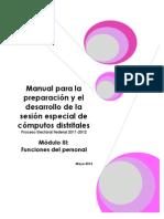 Còputos Informe Final De Los Cómputos Distritales Del Ine