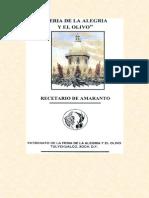 Rcetario de Amaranto
