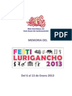 Memoria Festilurigancho 2013