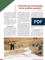 Cambio de Orientacion de La Politica Agraria