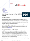 DAO Design Pattern - A Core J2EE Design Pattern