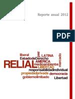 RELIAL reporte 2012