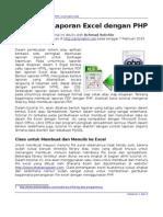 Membuat Laporan Excel dengan PHP (Achmatim.Net)