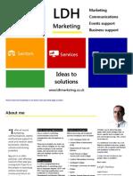 LDH Marketing Introductory brochure