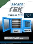 CascadeTEK Vacuum Oven Manual