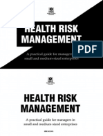 HSG 137 Health Risk Management