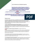 Preámbulo de la CN Argentina