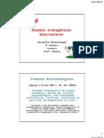Aula Biotec Animais Transgenicos 2sem 2012