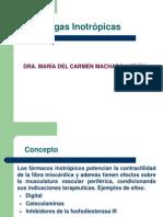 Drogas Inotropicas Dra Maria Del c Machado