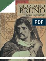 25389131 White Michael Giordano Bruno El Hereje Impenitente