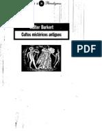 Burkert-Cultos Mistericos Antiguos
