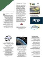 14 Triptico Cambio Climatico Que Es