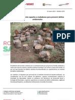 31-01-13 Boletin 1259 Gobierno de la Gente capacita a ciudadanos para prevenir delitos ambientales