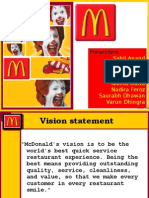 mcdonald's journey (International Marketing)