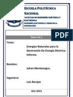 Fuentes de Energia Natural