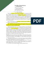 Frame Free Formulation Elasticity