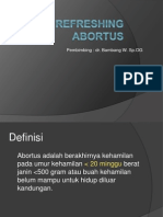Refreshing Abortus