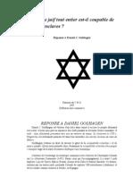 La Culpabilite Des Juifs Dans La Traite Des Esclaves Africains