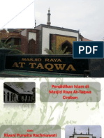 Masjid Raya At-Taqwa Cirebon