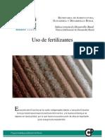 Uso de Fertilizantes