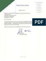 Senator McCain Letter to John Brennan