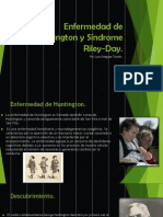 Enfermedad de Huntington y Síndrome Riley-Day