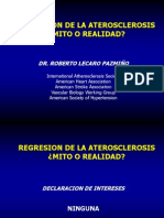 Regresión de la arterosclerosis