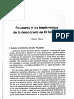 Rousseau y Los Fundamentos de La Democracia