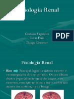 Fisiologia Renal - Seminário