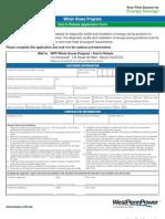 West-Penn-Power-Co-Test-In-Rebate-Application-Form