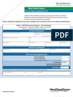 West-Penn-Power-Co-Test-Out-Rebate-Application-Form