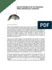 Algunos aspectos biológicos de los Popoyotes