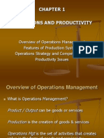 Operation Management Ch. 1