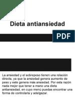Dieta Antiansiedad