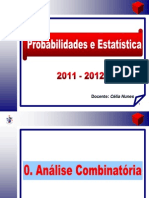 0- Análise Combinatória