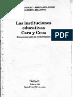 Las Instituciones Educativas Cara y Ceca_ Frigerio-poggi-tiramonti