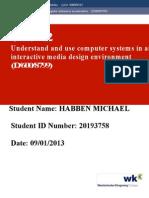 Unit 2 Habben Michael 09-01-2013Unit 2 Habben Michael 09-01-2013