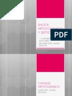 Shock Hipovolemico y Septico