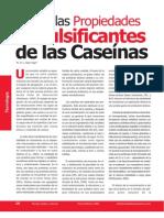 Propiedades de Las Caseinas y Del Caseinato de Sodio Cs