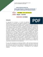 Analisis de Riesgos y Peligros en La Industria Petrolera Hazop